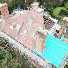 Private House Re-Roof : Sothall Roofing Specialists Ltd